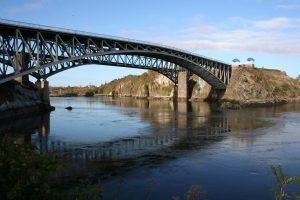 Reversing Falls Bridge in Saint John