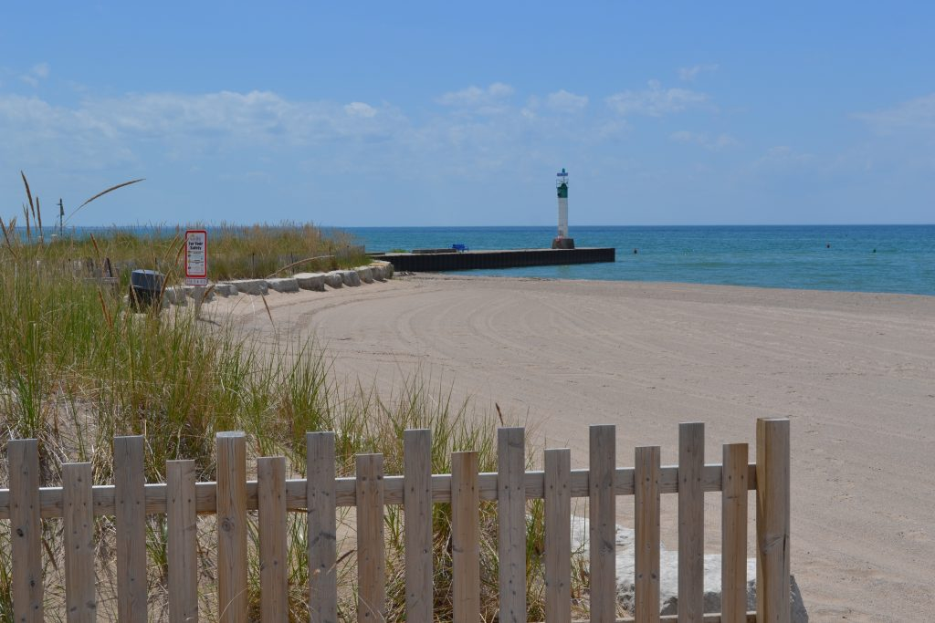 Grand Bend Beach - View of the Pier