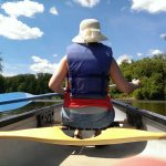 Canoeing on the Humber River