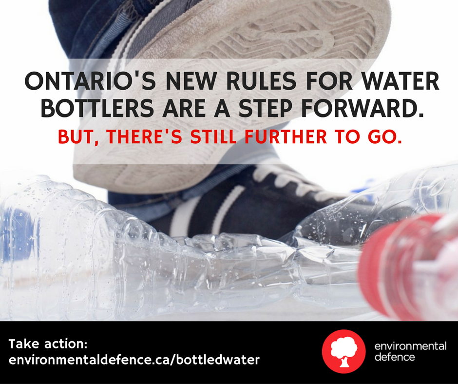 Ontario water takings announcement-1