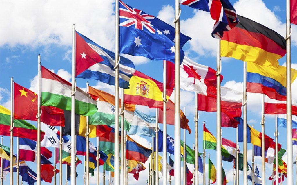 UN flags pic