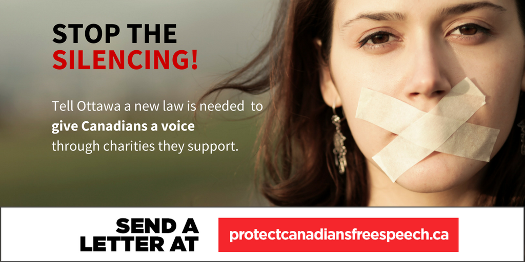 new charity law need to stop the silence