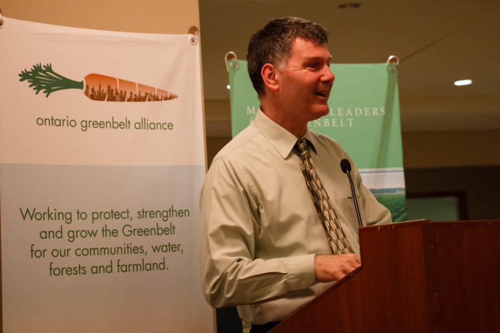 Glenn De Baeremaeker, Deputy Mayor, City of Toronto and Co-Founder and Co-Chair, Municipal Leaders for the Greenbelt