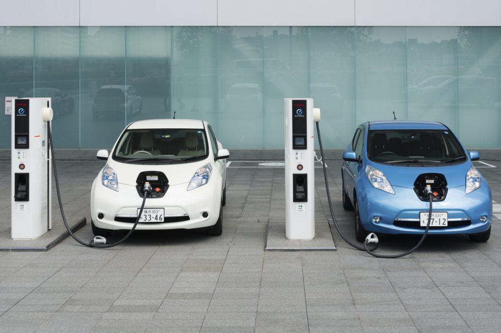 Electric Vehicle Charging Station EV