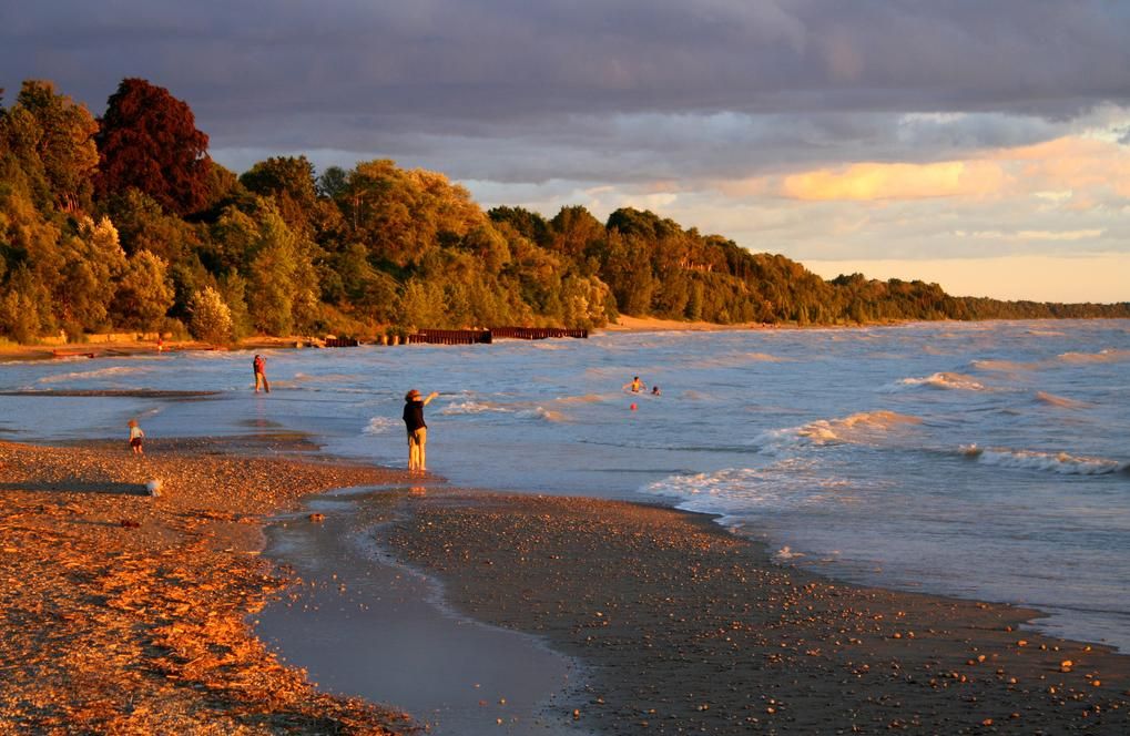 bayfield beach