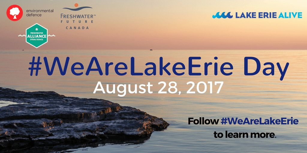 #WeAreLakeErie Day graphic
