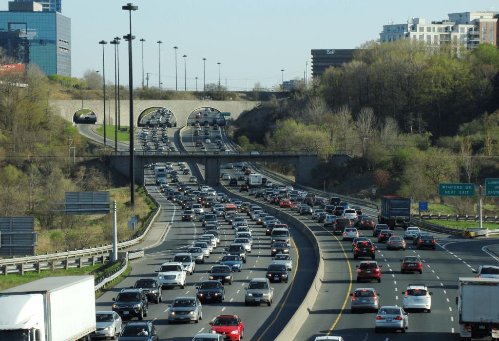 traffic congestion, air pollution