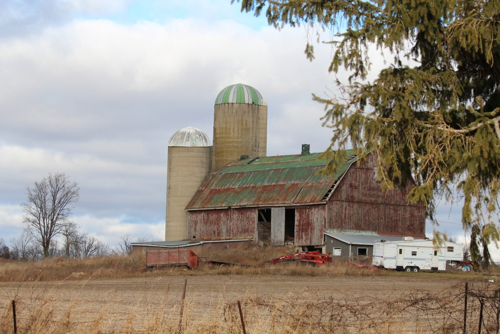An old barn in Brant County