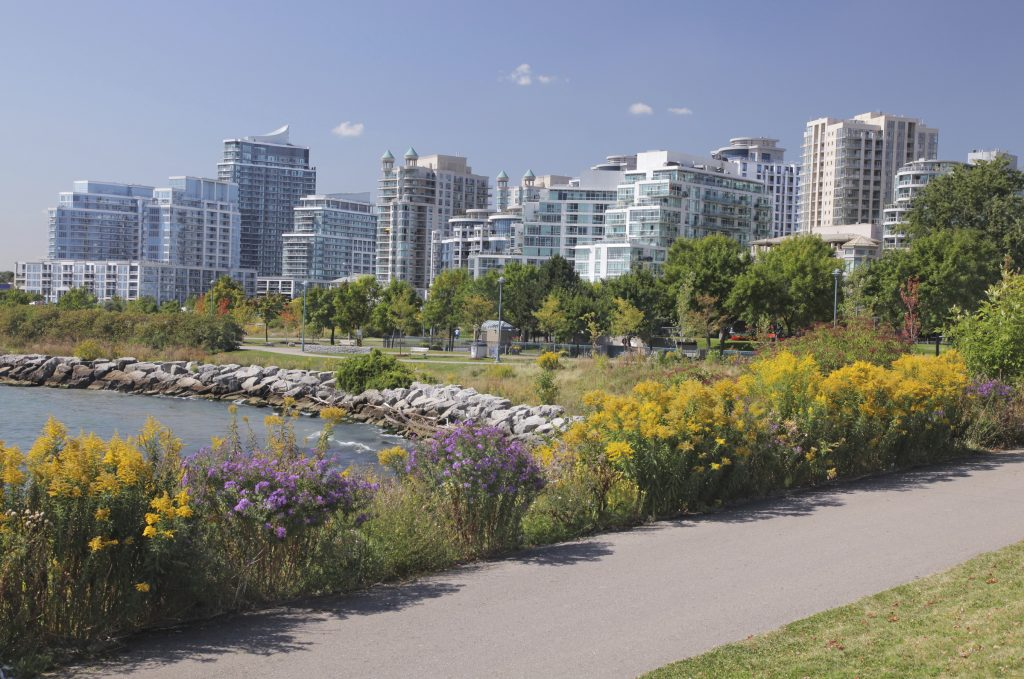 Residential growth in Mississauga.