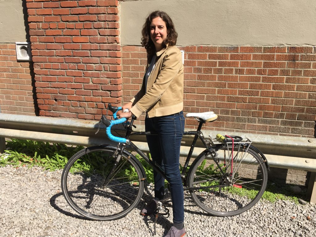 Bike to work - Sarah Buchanan