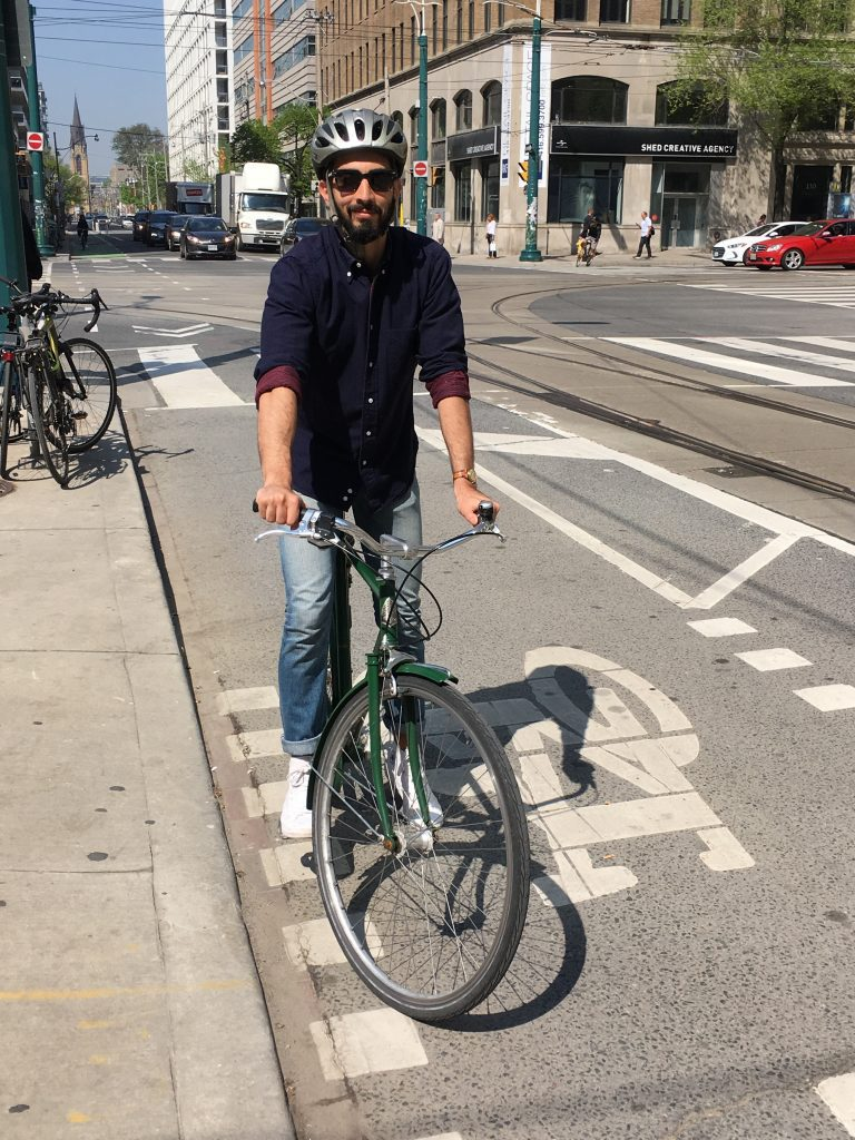 Bike to work - Muhannad Malas