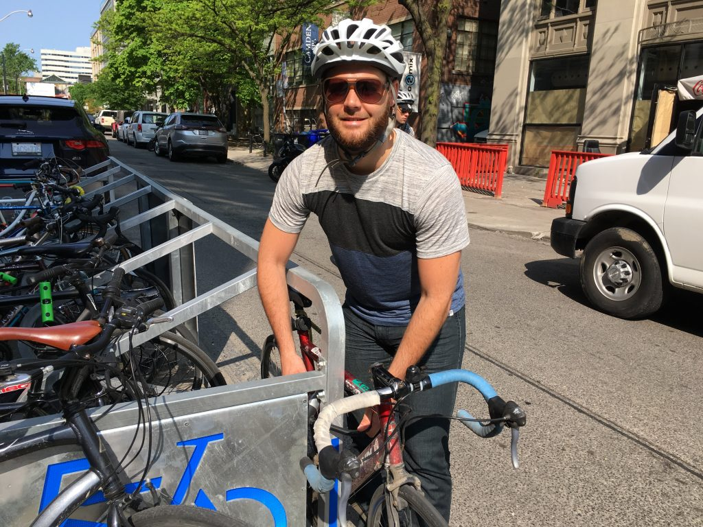 Bike to work - Patrick DeRochie