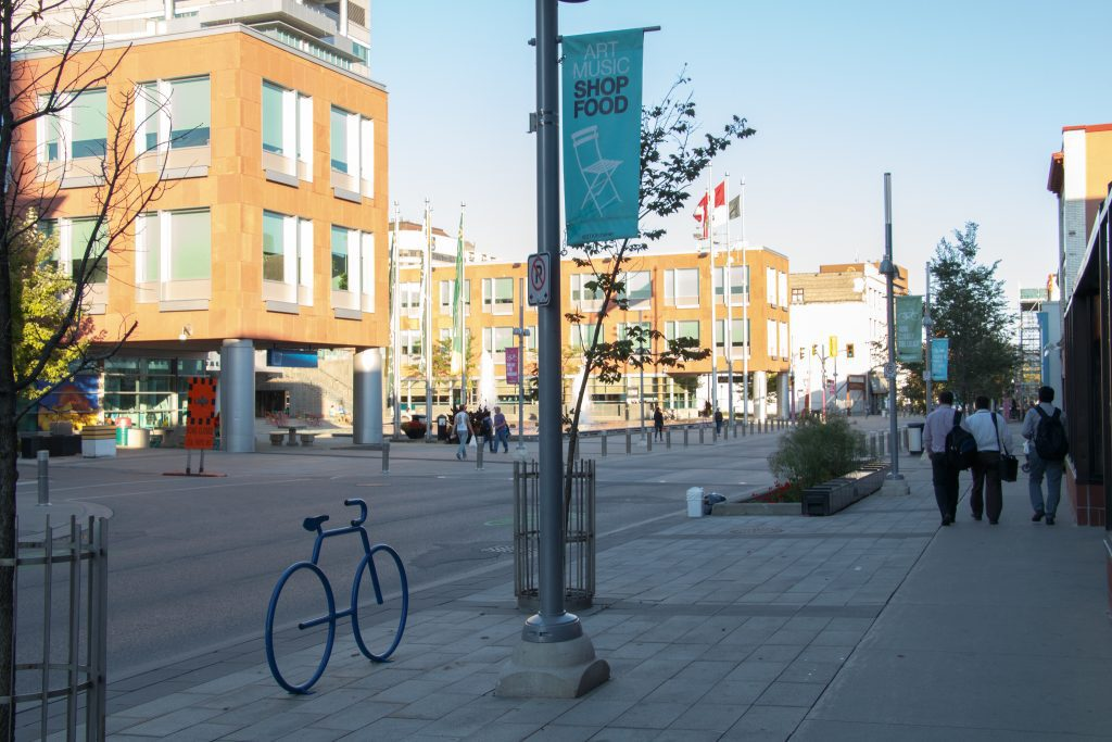 A smart growth community that has a mix of housing and transportation options.