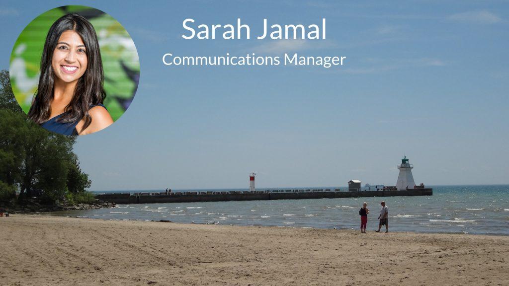 Sarah Jamal - Communications Manager