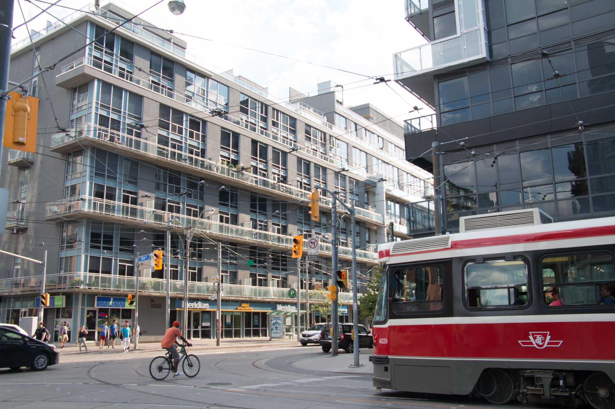mid rise development close to transit