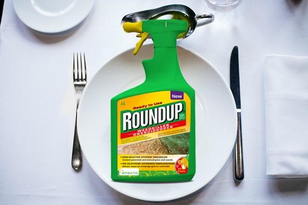 roundup glyphosate food