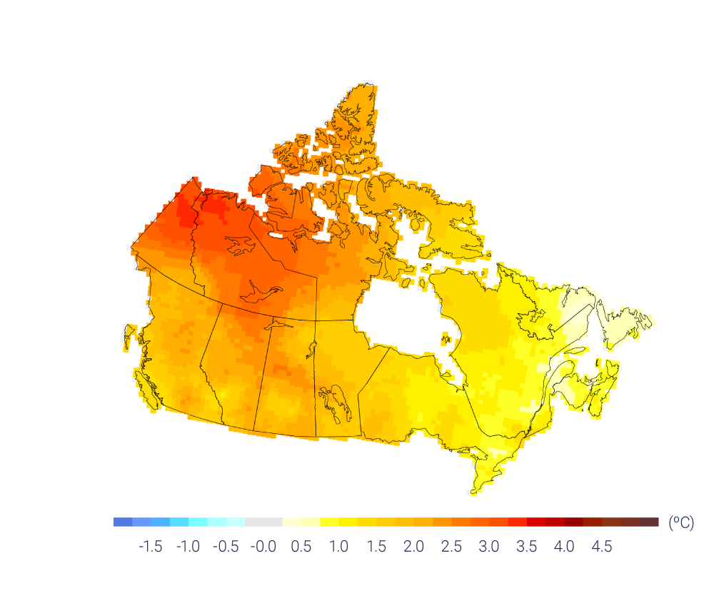 Canada warming pricing carbon pollution