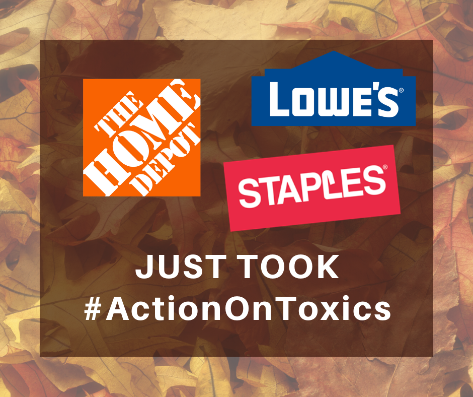 home depot lowes staples to protect customers