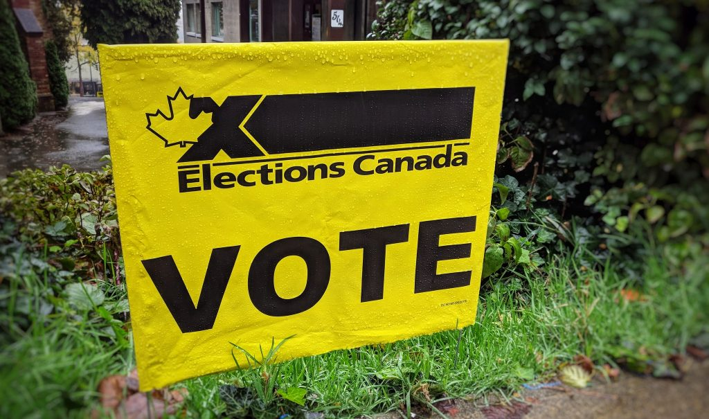 vote Canada election
