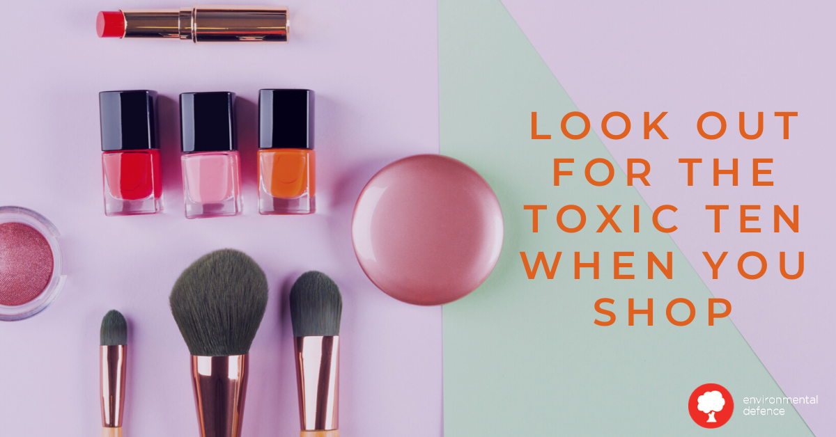 skincare products makeup toxic ten