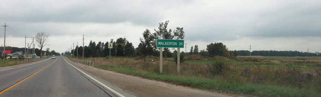 Walkerton sign