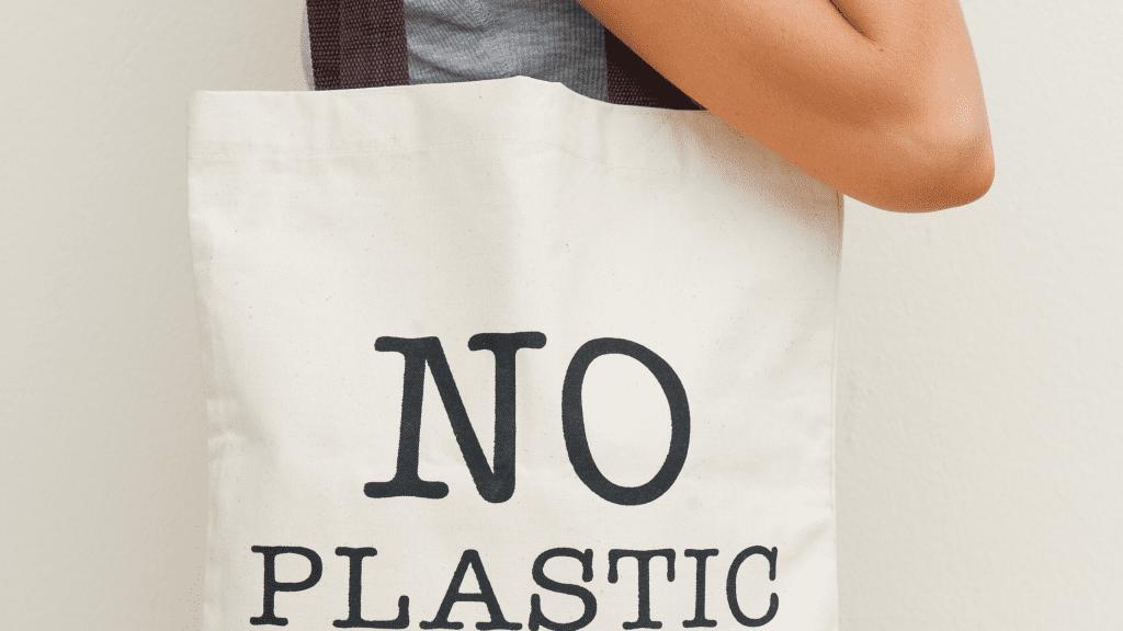 No Plastic reusable shopping bag